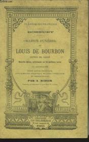 Oraison Funebre De Louis Boubon, Prince De Conde - Couverture - Format classique