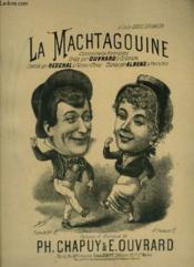 La Machtagouine - Chansonnette Auvergnate Pour Piano Et Chant. - Couverture - Format classique