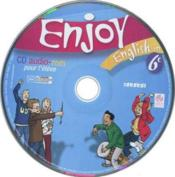 Vente livre :  ENJOY ENGLISH IN ; 6ème ; CD audio-rom de remplacement (édition 2006)  - Odile Martin-Cocher
