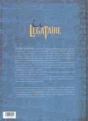 Le légataire t.1 ; le rendez-vous de glasgow - 4ème de couverture - Format classique