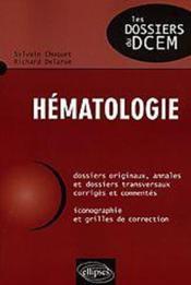 Hematologie - Couverture - Format classique