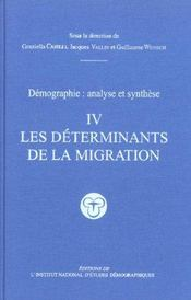 Vente livre :  Demographie, Analyse Et Synthese Volume 4  - Graziella Cazelli - Jacques Vallin - Guillaume Wunsch - Caselli/Vallin/Wunsc