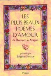 Les Plus Beaux Poemes D'Amour De Ronsard A Aragon - Couverture - Format classique