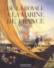 De la royale a la marine de france - Intérieur - Format classique