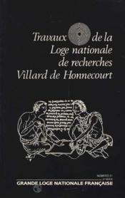 N.21 Travaux De La Loge - Couverture - Format classique
