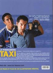 Taxi 2 ; le livre du film - 4ème de couverture - Format classique