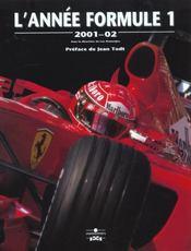 Annee Formule 1 2001-2002 - Intérieur - Format classique