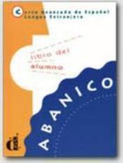 Abanico libro del alumno - Couverture - Format classique