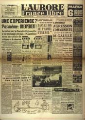 Aurore France Libre (L') N°1250 du 19/09/1948 - Couverture - Format classique