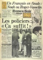 France Soir Toute Derniere Quarte N°12065 du 01/06/1983 - Couverture - Format classique