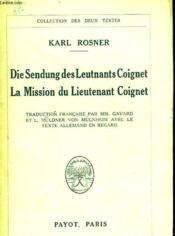 Die Sendung Des Leutenants Coignet - La Mission Du Lieutenant Coignet - Couverture - Format classique