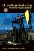 Vente  Oil and gas production in nontechnical language  - Collectif