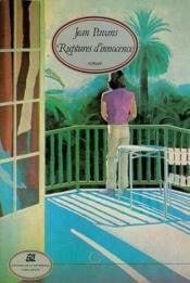 Ruptures D'Innocence - Couverture - Format classique