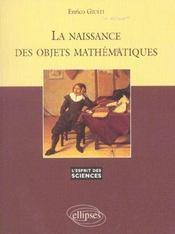 La Naissance Des Objets Mathematiques No6 - Intérieur - Format classique