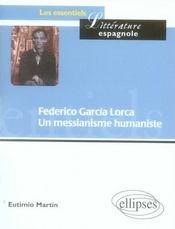 Federico garcia lorca - Intérieur - Format classique