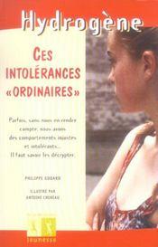 Ces Intolerances Ordinaires - Intérieur - Format classique