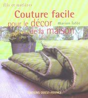 Couture facile pour le décor de la maison - Intérieur - Format classique