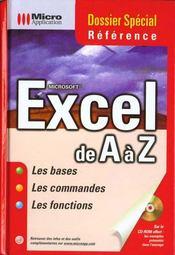 Dossier Special Excel De A A Z - Intérieur - Format classique
