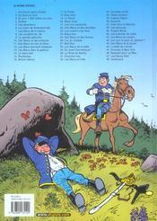Les tuniques bleues t.48 ; Arabesque - 4ème de couverture - Format classique