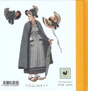 Le costume auvergnat et bourbonnais - 4ème de couverture - Format classique