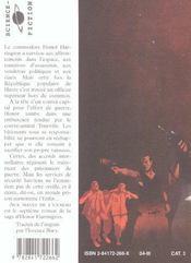 Aux Mains De L Ennemi Tome 2 Honor Harrington7 - 4ème de couverture - Format classique