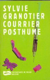 Courrier Posthume - Intérieur - Format classique