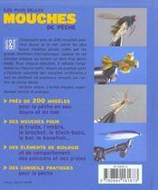 Les Plus Belles Mouches De Peche - 4ème de couverture - Format classique