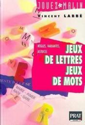Jeux De Lettres Jeux De Mots - Couverture - Format classique