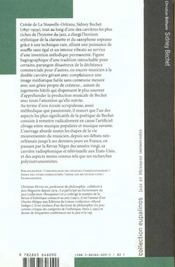 Sidney Bechet - 4ème de couverture - Format classique
