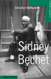 Sidney Bechet - Couverture - Format classique