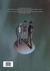 Nemesis t.2 ; babalon working - 4ème de couverture - Format classique