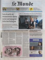 Monde (Le) N°20889 du 18/03/2012 - Couverture - Format classique