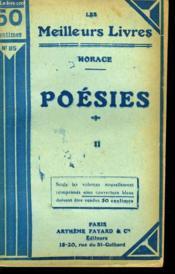 Poesies. Tome 2. Collection : Les Meilleurs Livres N° 85. - Couverture - Format classique