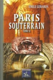 Paris Souterrain (Tome 2) - Couverture - Format classique