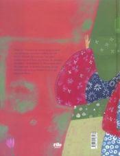 La rose bleue - 4ème de couverture - Format classique