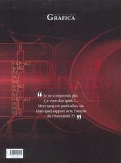 A.d.n t.2 ; l'ange noir - 4ème de couverture - Format classique