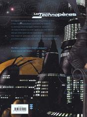 Les technopères t.3 ; planeta games - 4ème de couverture - Format classique