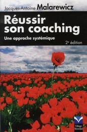 Reussir son coaching ; une approche systémique - Intérieur - Format classique