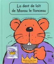 La dent de lait de maxou le lionceau - Intérieur - Format classique