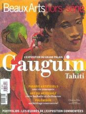 Beaux arts magazine ; hors-serie ; gauguin - tahiti - Intérieur - Format classique