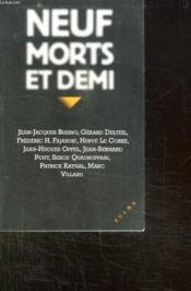 Neuf Morts Et Demi - Couverture - Format classique