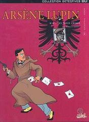Arsène Lupin t.2 ; 813 : les trois crimes - Intérieur - Format classique