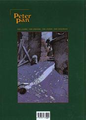Peter Pan t.4; mains rouges - 4ème de couverture - Format classique