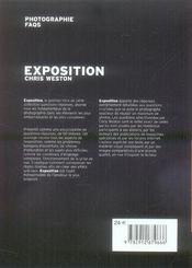 Exposition - 4ème de couverture - Format classique
