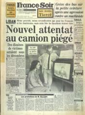 France Soir Toute Derniere Tierce N°12199 du 04/11/1983 - Couverture - Format classique