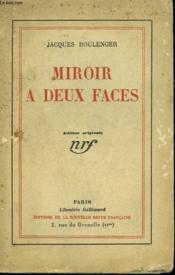 Miroir A Deux Faces. - Couverture - Format classique