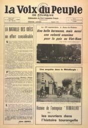 Voix Du Peuple De Touraine (La) N°1314 du 02/10/1966 - Couverture - Format classique