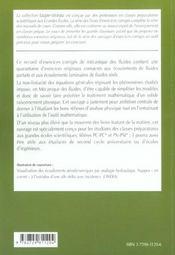 Mecanique Des Fluides 2e Annee Pc-Pc*-Psi-Psi* Exercices Corriges - 4ème de couverture - Format classique