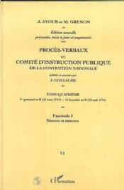 Proces Verbaux (17 Vol) Du Comite D'Instruction Publiq - Couverture - Format classique