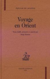 Voyage En Orient - Couverture - Format classique